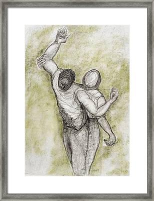 Justice, 1998 Framed Print