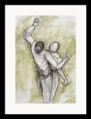 Racial Discrimination Framed Prints
