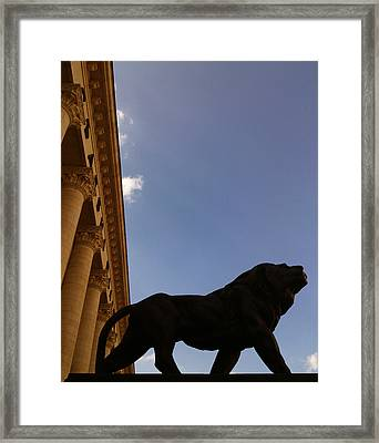 Justice Framed Print by Lucy D