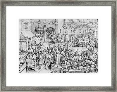 Justice Framed Print by Pieter the Elder Bruegel