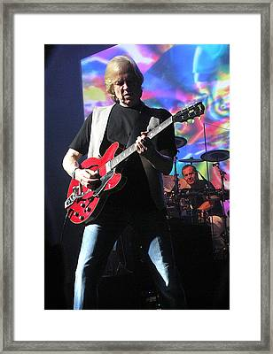 Justin Hayward Of The Moody Blues Framed Print