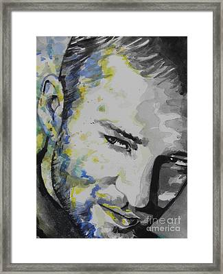 Justin Timberlake...02 Framed Print by Chrisann Ellis