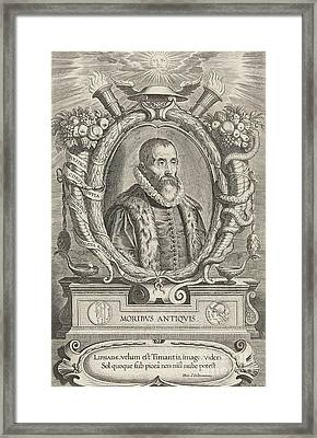 Justus Lipsius, Belgian Scholar Framed Print by Photo Researchers