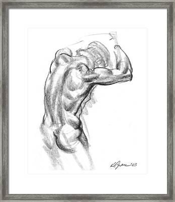 Juxtapose Framed Print by Karl Gnass