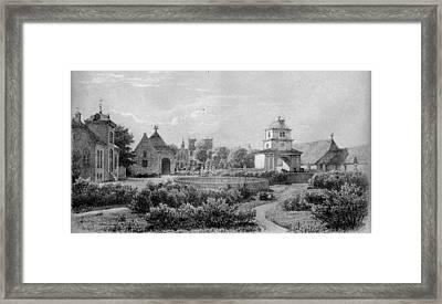 Jylland  Norre Vosborg Framed Print