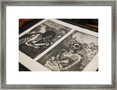 K Double-you A Framed Print by J Ethan Hopper