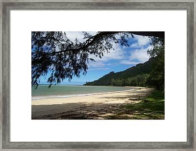 Ka'a'a'wa Beach Park Framed Print