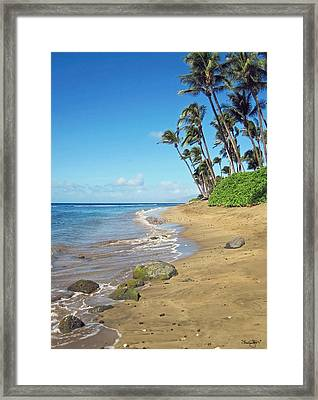 Ka'anapali Beach Framed Print