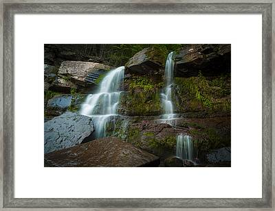 Kaaterskill Falls Framed Print by Edgars Erglis