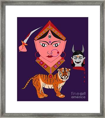 Kaatyayani Framed Print by Pratyasha Nithin