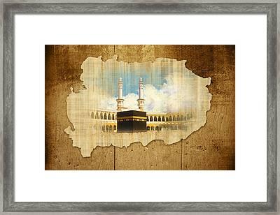 Kabah Framed Print by Catf