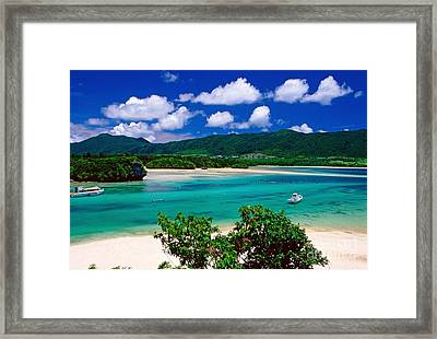Kabira Bay Framed Print by Aiolos Greek Collections