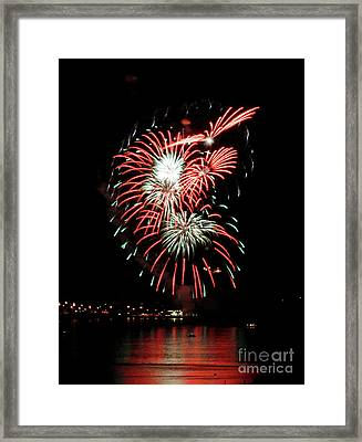 Framed Print featuring the photograph Kaboom by Chris Anderson