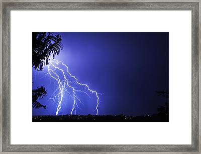 Kaboom Framed Print by Odille Esmonde-Morgan