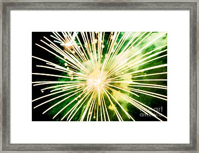 Framed Print featuring the photograph Kaboom by Suzanne Luft