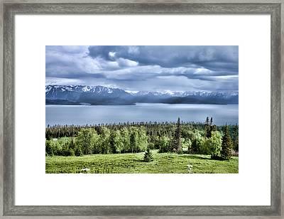 Kachemak Bay Framed Print by Heather Applegate
