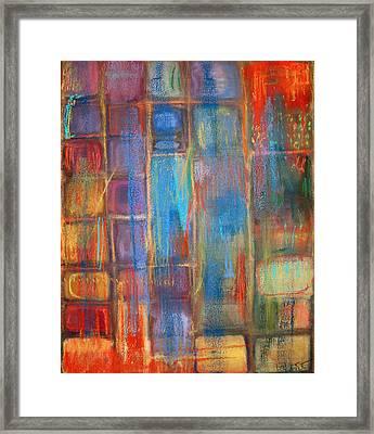 Kachina 1 Framed Print by Tolere