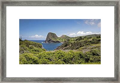 Kahakuloa Head Framed Print by Charlie Osborn