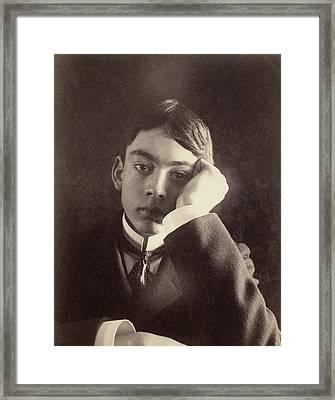 Kahlil Gibran (1883-1931) Framed Print