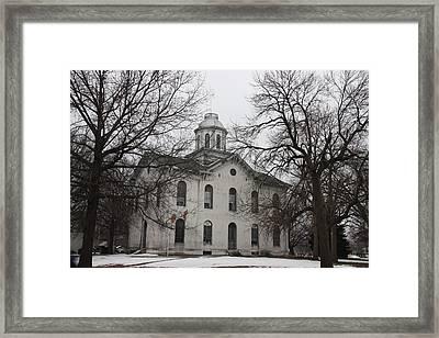 Kahoka Courthouse Framed Print