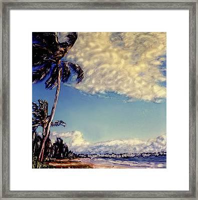 Kailua Beach 1 Framed Print