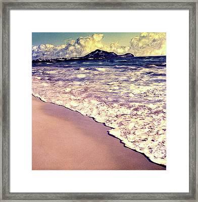 Kailua Beach 2 Framed Print