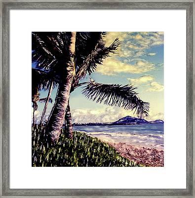 Kailua Beach 3 Framed Print