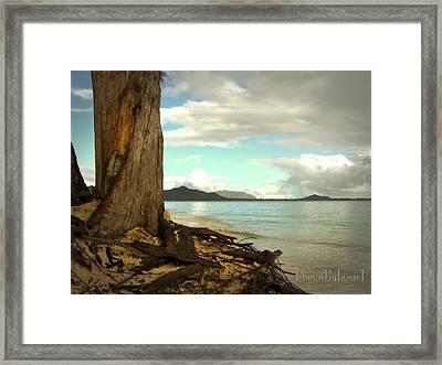 Kailua Beach Framed Print