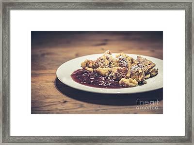 Kaiserschmarrn Framed Print by JR Photography