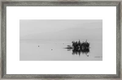 Kakuri - Isolation Framed Print by Peter Tellone