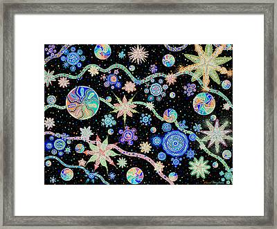 Kalafu In Space Framed Print by Dave Migliore