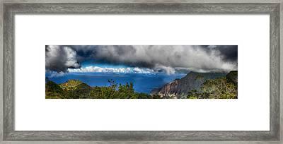 Kalalau Outlook  Framed Print by Douglas Barnard