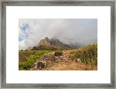Kalalau Valley Rainbow - Kauai Hawaii Framed Print by Brian Harig