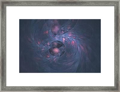 Kaldanu Nebula Framed Print by Doug Morgan