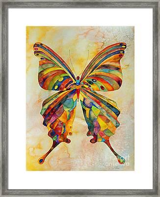 Kaleid Framed Print by Shannan Peters
