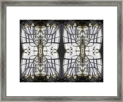 Kaleidnos Framed Print by Citpelo Xccx