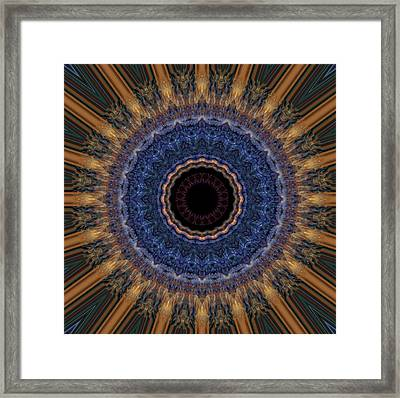 Kaleidoscope 11 Framed Print by Tom Druin