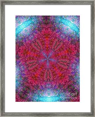 Framed Print featuring the photograph Kaleidoscope 2 by Robyn King