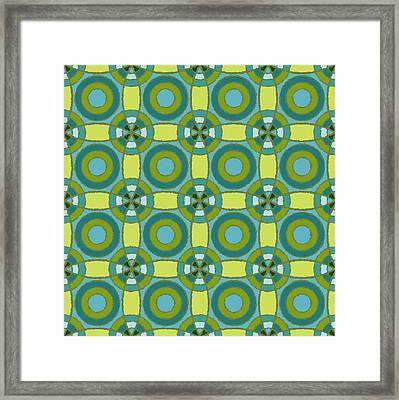 Kaleidoscope 3 Framed Print