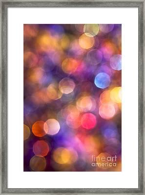 Kaleidoscope Framed Print