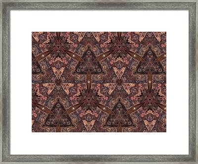 Framed Print featuring the photograph Kaleidoscope by Michele Kaiser
