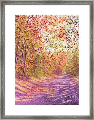 Kaleidoscope Morning Framed Print