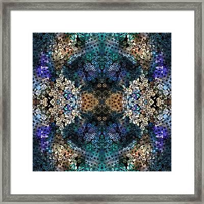 Kaleidoscopic 1 Framed Print by Gabour Demans