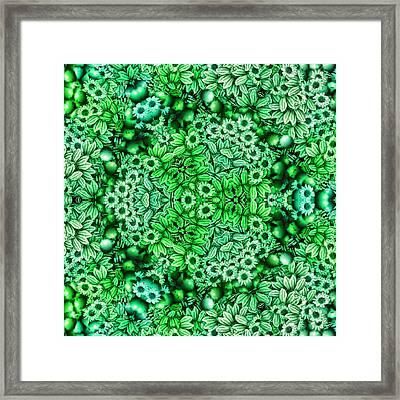 Kaleidoscopic 3 Framed Print by Gabour Demans