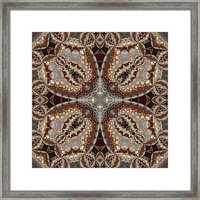 Kaleidoscopic No. 5 Framed Print by Mark Eggleston