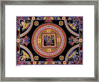 Kali Aripana Framed Print