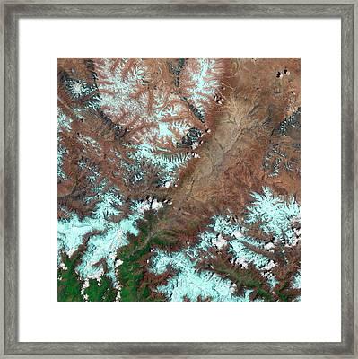 Kali Gandaki Gorge Framed Print