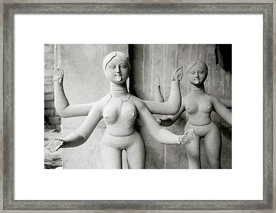 Kali Show Your Tongue Framed Print by Shaun Higson