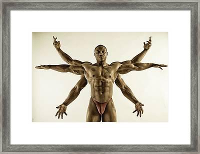 Kali Framed Print by Thomas Mitchell