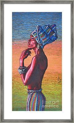 Kalimba De Luna Framed Print